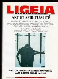 Revue Ligeia Dossier Sur L'art  Art Et Spiritualite  N 29 -30-31-32 Octobre 1999/ Juin 2000