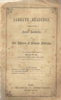 SABBATH READINGS VOL. X
