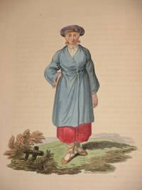 The Costume of the Russian Empire 1811. Original Hand Coloured Engraving by John Dadley (after Johann Gottlieb Georgi). Plate VI: A Female Peasant of Ingria