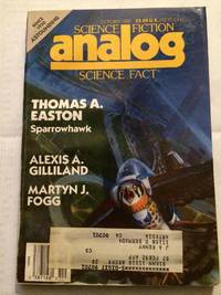 Analog Science Fiction and Fact Magazine, October 1989