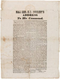 MAJ. GEN. N.B. FORREST'S ADDRESS TO HIS COMMAND [caption title]