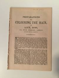 Preparations For Colouring The Hair