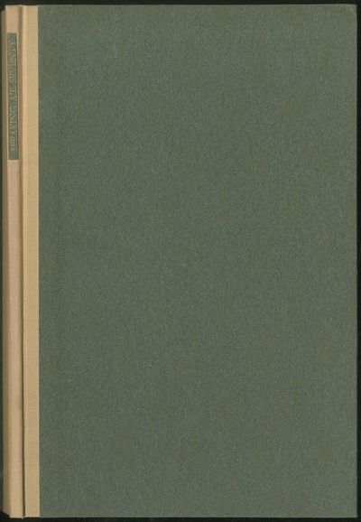 San Francisco: Gelber, Lilienthal, 1931. Hardcover. Fine. First edition. Small bookstore label on re...