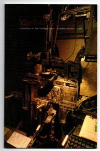 image of The Devil's Artisan: A Journal of the Printing Arts, Number Twenty