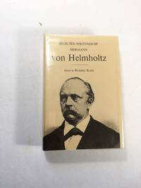 Selected Writings Of Hermann von Helmholtz