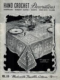 Hand Crochet Decorations Vol 119