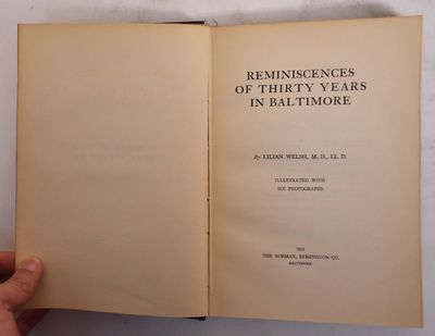Baltimore: Norman, Remington Company, 1925. Hardcover. VG- (previous owner's name in ink inside fron...