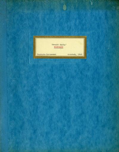 EL DORADO [under working title:...