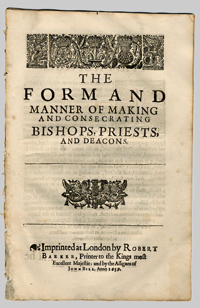 London: Imprinted ... by Robert Barker ... and by the Assignes of John Bill, 1639. A8 (+/-A5) B6. Fo...