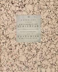 image of [Turtle] [Wunderkammer]  Brief van Pieter Boddaert . . . aan den zeer weledelen gestrengen heere W. Roëll . . . behelzende eene naauwkeurige beschrijving, en naar het leven vervaardigde afbeelding, van de kraakbeenige schildpad . . . Johannes Albertus Schlosser [III. P Boddaert over de kraakbeenige schildpad / Petrus Boddaert de Testudine cartilaginea]