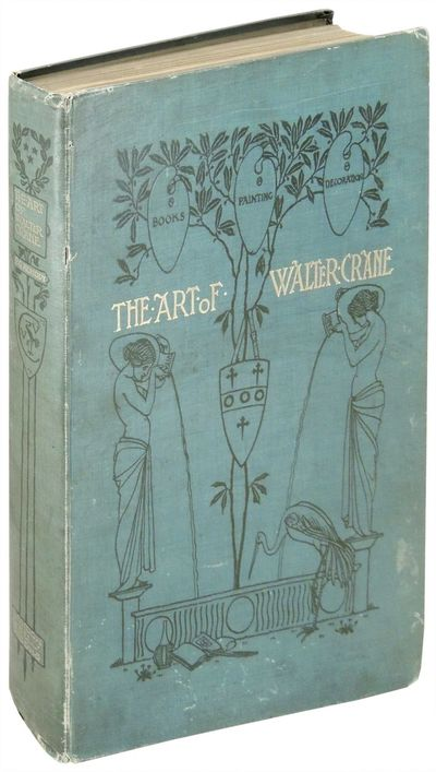 London: George Bell and Sons, 1902. Hardcover. Very Good. Walter Crane. Walter Crane. Hardcover. FIR...