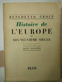 Histoire De L'Europe au Dix-Neuvieme Siecle