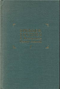 Spenser Studies: a Renaissance Poetry Annual I