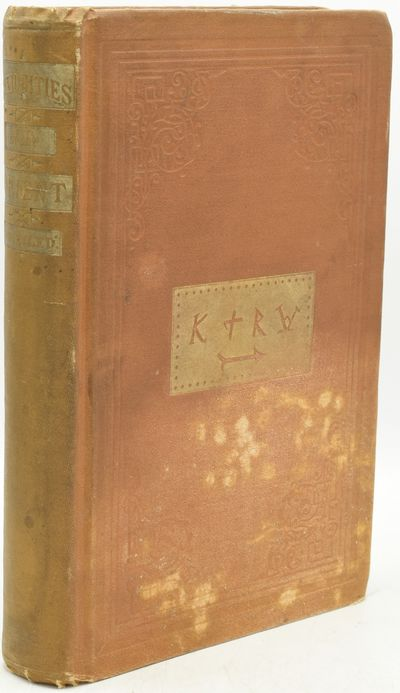 New York: Redding & Co, 1872. First Edition. Hard Cover. Very Good binding. This copy with black and...