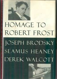NY: Farrar Straus Giroux, 1996. First edition, first prnt. Inscribed by Walcott on the front free en...