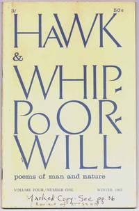Hawk & Whippoorwill: Winter 1963 (Volume Four, Number One)