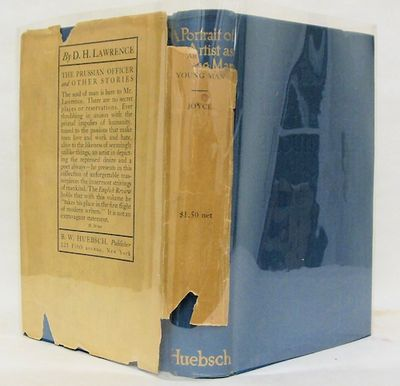 New York: B. W. Huebsch, 1916. Medium blue cloth, lettered in gilt and blind. Top edge slightly dust...