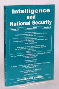 image of Venona and Alger Hiss [in Intelligence and national security, volume 15 Autumn 2000 number 3]