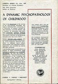 A dynamic psychopathology of childhood.