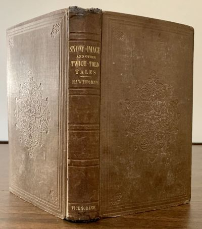 Boston: Ticknor, Reed & Field, 1852. First American edition. Hardcover. Orig. brown publisher's clot...