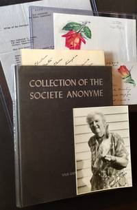 Collection of the Societe Anonyme (Inscribed by Katherine Dreier and Marcel Duchamp AND Including Additional Ephemera)