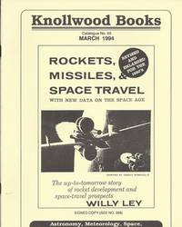 ASTRONOMY, METEOROLOGY, SPACE, ROCKETRY AND RELATED ITEMS. CATALOGUE #65.