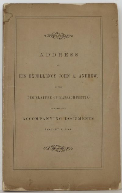 Wright & Potter, 1864. 5th or later Edition. Soft cover. Very Good. Boston. 1864. 88,110pp. plus fol...