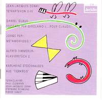 Tetraclavier: Dunki/Glaus/Pepi/Stockhausen/Zimmerlin [CD - Music Compact Disc]