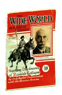The Wide World Magazine, September (Sept.) 1918 - Cover Photo of Robert Wilton Who Provides Startling Disclosures of Russia's Collapse