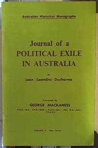 image of Journal of a political exile in Australia