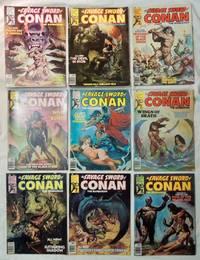 Lot 9 Savage Sword of Conan 1976 comics 14, 15, 16, 17, 18, 19, 20, 21, 22