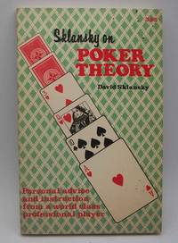 image of Sklansky on Poker Theory