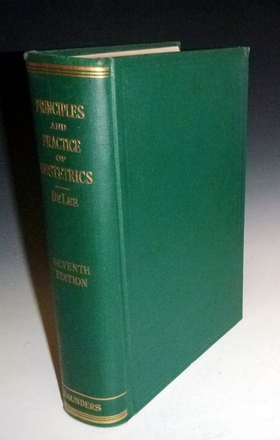 Philadelphia: W.B. Saunders Co, 1938. Thick Quarto. xiv, 1211 pages, 7th edition, entirely reset. Il...