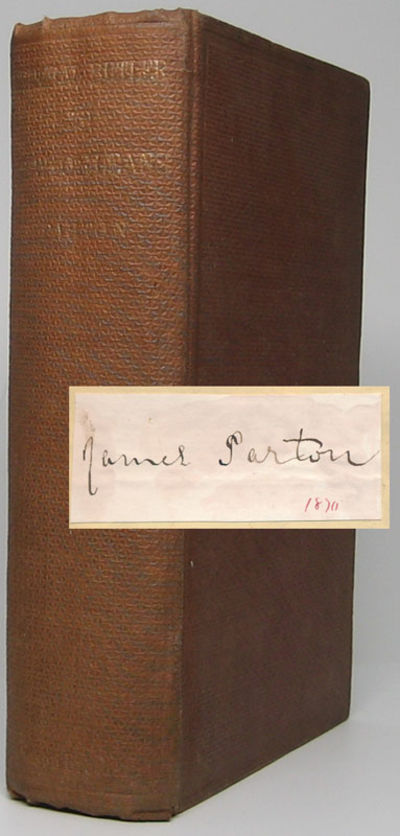 New York: Mason Brothers, 1864. Hardcover. 8vo. Brown pebble-grained cloth with gilt spine lettering...
