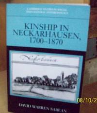 Kinship in Neckarhausen 1700-1870