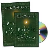 The Purpose of Christmas DVD Study Curriculum Kit: A Three-Session, Video-Based Study for Groups or Families by Rick Warren - Hardcover - 2008-09-02 - from Books Express (SKU: 0310942128)