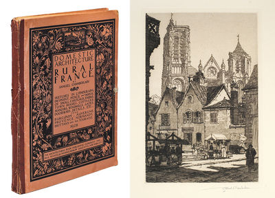 New York: The Architectural Book Company, Paul Wenzel & Maurice Krakow, 1928. Folio, vii, 55 plates ...