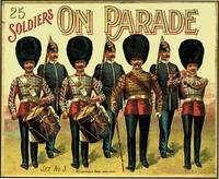 25 SOLDIERS ON PARADE