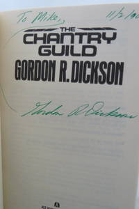 image of THE CHANTRY GUILD  (DJ is protected by a clear, acid-free mylar cover)  (Signed by Author)
