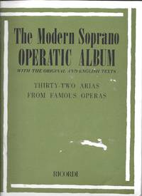 image of The Modern Soprano Operatic Album Wtih the Original and Englishtext