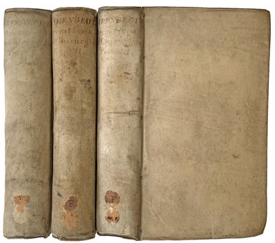 Paris:: Chez Huart, 1731., 1731. 3 volumes. 12mo. xviii, , 476, ; , 468; , 472 pp. 24 engraved plate...