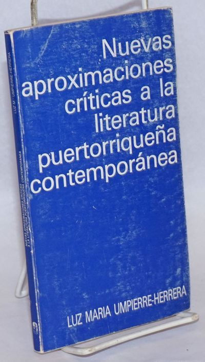 Rio Piedras PR: Editorial Cultural, 1983. Paperback. 132p., softbound in 8x4.5 inch wraps. Cover rub...
