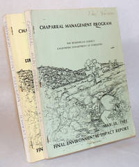 image of Chaparral Management Program: Final Environmental Impact Report, May 18, 1981  [with]  Chaparral Management, Comments Received on the Draft, with Replies  [two volumes