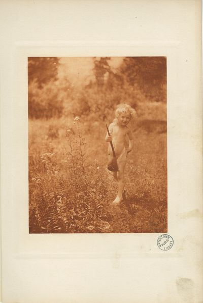 NY: The Camera Club, N.Y., 1899. Hand-pulled photogravure, image size 6 3/16 x 4 7 /8 in. Printed on...