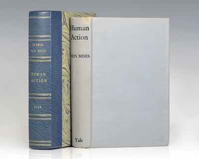New Haven: Yale University Press, 1949. First edition of the economist's magnum opus. Octavo, origin...