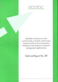 (Q)SARs: Evaluation of the Commercially Available Software for Human Health and Environmental...
