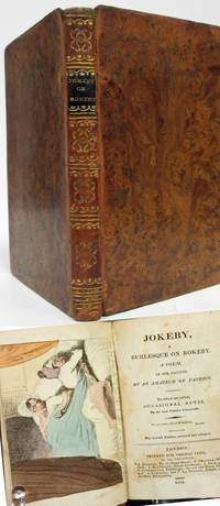 JOKEBY A BURLESQUE ON ROKEBY A POEM IN SIX CANTOS (1813)  By an Amateur of  Fashion by  John Roby - Hardcover - Seventh Edition - 1813 - from Nick Bikoff, Bookseller (SKU: 10442)