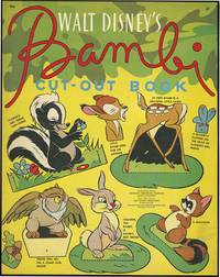 WALT DISNEY'S BAMBI CUT-OUT BOOK