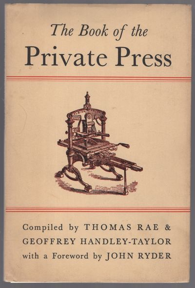 Greenock, Scotland: Signet Press, 1958. Softcover. Fine/Near Fine. Advance Copy. 48pp. Trade paperba...
