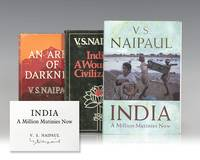 image of An Area of Darkness: An Experience of India; India: A Wounded Civilization and India: A Million Mutinies Now.